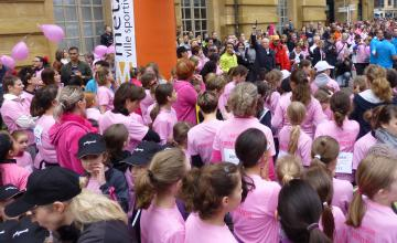 Course contre le cancer du sein La Messine